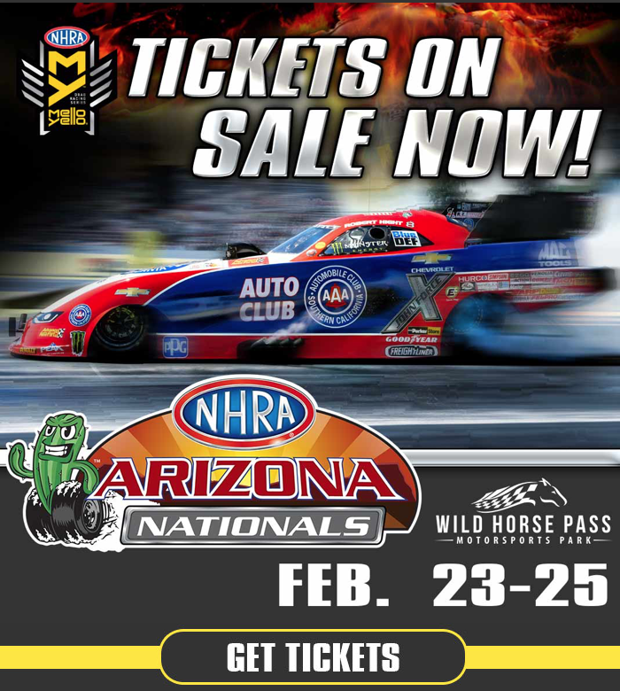2018 NHRA Arizona Nationals – Race Wild Horse